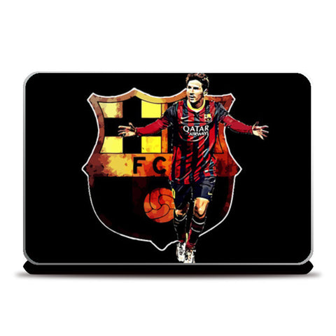 Messi - FC Barcelona Laptop Skins | Artist : Syamantak Dubey