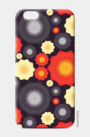 Geometric object pattern illustration iPhone 6/6S Cases | Artist : Designerchennai