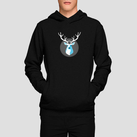 Hoodies, Deer Hoodies | Artist : Paresh Godhwani, - PosterGully - 1