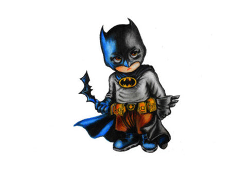 Wall Art, Baby Batman Wall Art  | Artist : Somin Jain, - PosterGully