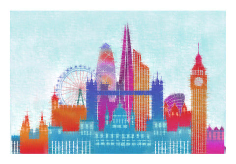 Wall Art, london Wall Art  | Artist : Pritika Uppal, - PosterGully