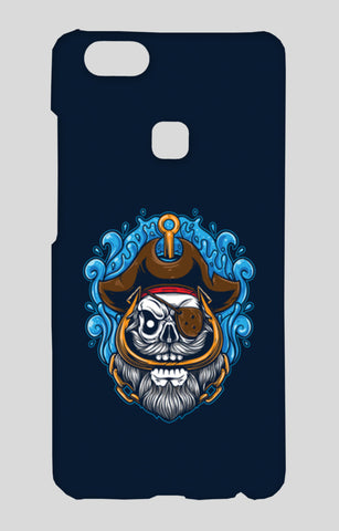 Skull Cartoon Pirate Vivo V7 Plus Cases | Artist : Inderpreet Singh