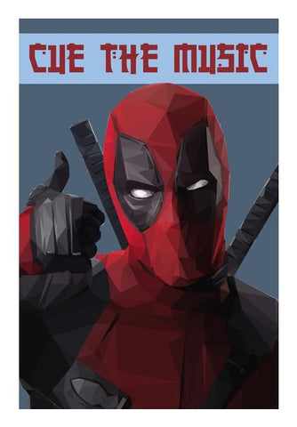 PosterGully Specials, Deadpool Wall Art | Artist : Shashanka Beshra, - PosterGully