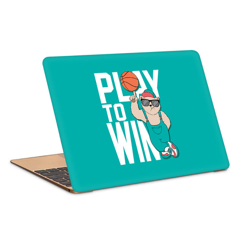 Play To Win Artwork Laptop Skin