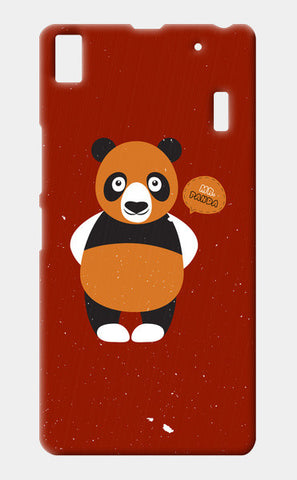 Panda On Red Lenovo A7000 Cases | Artist : Designerchennai