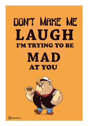 Mad At U Wall Art | Artist : Graphic Gallery