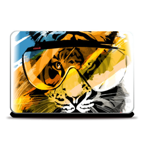 Warrior leo Laptop Skins | Artist : nilesh gupta