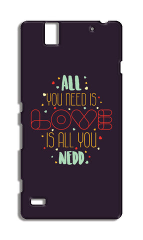 All you need is love is all you need Sony Xperia C4 Cases | Artist : Designerchennai