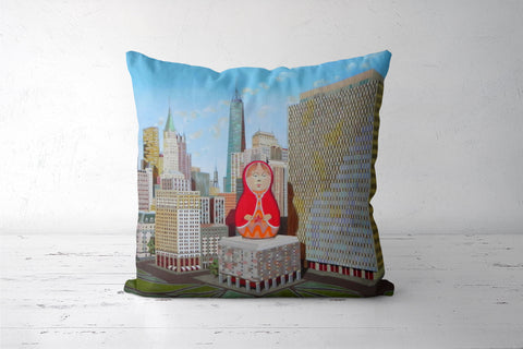 matrioska Cushion Covers | Artist : federico cortese