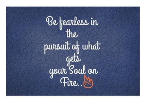 Be Fearless Wall Art  | Artist : Pallavi Rawal