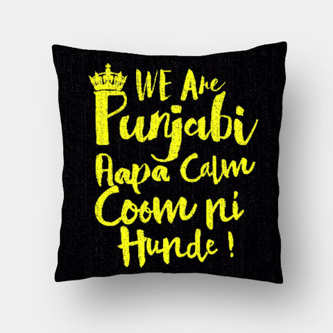 Cushion Covers, We are Punjabiz Cushion Cover | Pankaj Bhambri, - PosterGully