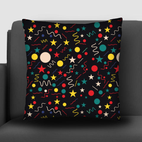 Seamless abstract pattern with geometric shapes Cushion Covers | Artist : Designerchennai
