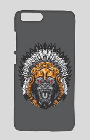 Gorilla Wearing Aztec Headdress Xiaomi Mi-6 Cases | Artist : Inderpreet Singh