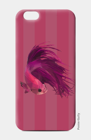 Pink Fish iPhone 6/6S Cases | Artist : Shashanka Beshra