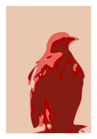 Wall Art, Abstract eagle red Wall Art  | Artist : Keshava Shukla, - PosterGully