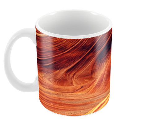 Canyon Pattern | Earth Edition Coffee Mugs | Artist : Aditya Gupta
