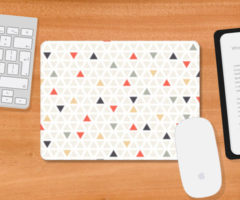Triangle Pattern Scarf Mousepad | Artist : The Un.Titled