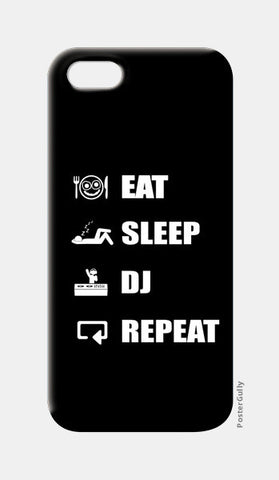 iPhone 5 Cases, EAT SLEEP DJ REPEAT - iPhone 5 | Artist : DJ Ravish, - PosterGully