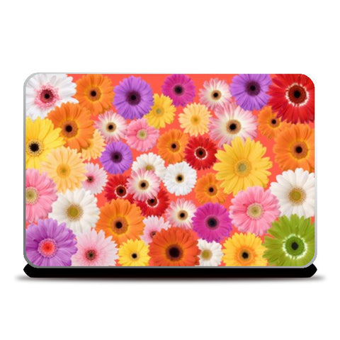 Flowers everywhere Laptop Skins | Artist : Pallavi Rawal