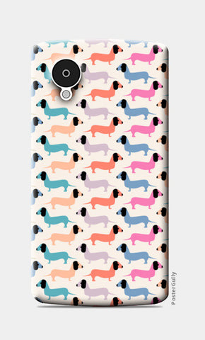 Dog seamless pattern Nexus 5 Cases | Artist : Designerchennai