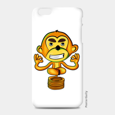iPhone 6/6S Plus Cases, Yogi Monkey iPhone 6 Plus/6S Plus Cases | Artist : Archana Aravind, - PosterGully