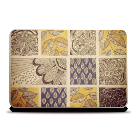 Laptop Skins, patterns Ink Trails Laptop Skin | Artist: Archana Narendran, - PosterGully
