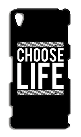 Choose Life Sony Xperia Z3 Cases | Artist : Designerchennai