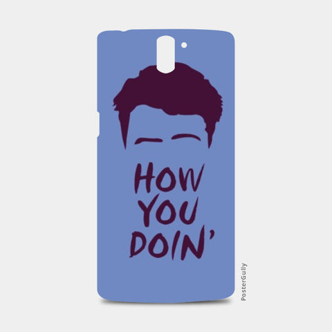 One Plus One Cases, Joey From Friends One Plus One Cases | Artist : Mohak Gulati, - PosterGully