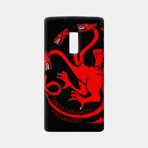 One Plus Two Cases, House Targaryen - Game Of Thrones One Plus Two Cases | Artist : Gurmeet, - PosterGully