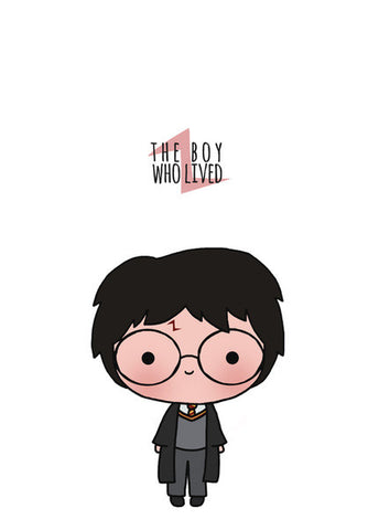Wall Art, Harry Potter doodle Wall Art | Artist : Naeema Rezmin, - PosterGully