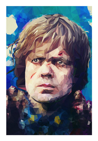 Wall Art, Hear me roar | Tyrion Lannister Lowpoly portrait Wall Art | cuboidesign, - PosterGully