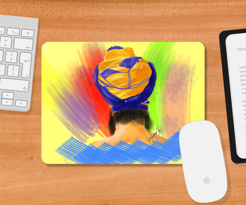 Mousepad, Enlightenment Sikh Mousepad | Gagandeep Singh, - PosterGully