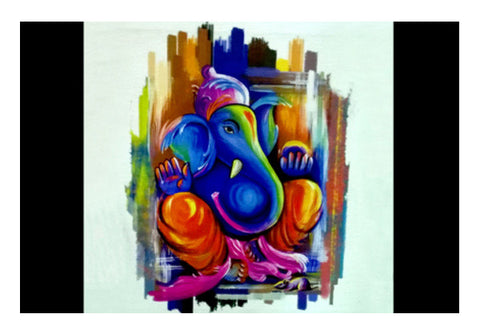 Wall Art, Lord Ganesha Wall Art  | Artist : Pranit Jaiswal, - PosterGully