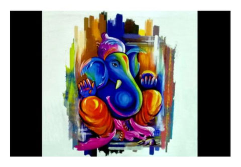 PosterGully Specials, Lord Ganesha Wall Art | Artist : Pranit Jaiswal | PosterGully Specials, - PosterGully