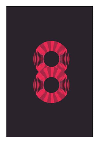 PosterGully Specials, The Circle Of Eight |  POP Wall Art | Artist : owen jungio, - PosterGully