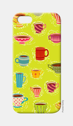 iPhone 5 Cases, English Tea Cup iPhone 5 Cases | Artist : Pratyusha Subramaniam, - PosterGully