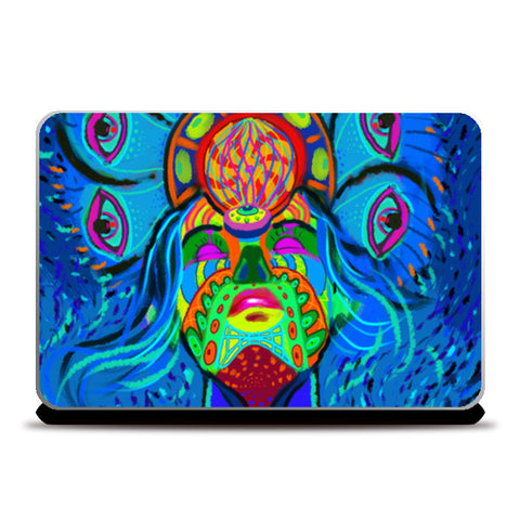 psychedelica Laptop Skins | Artist : Malay Jain