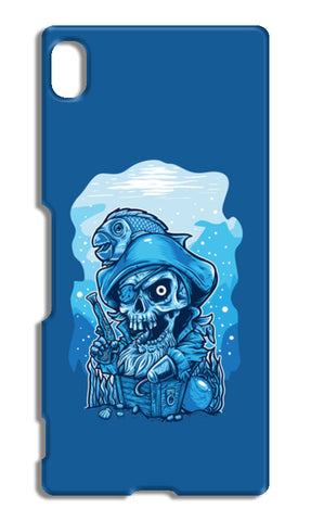 Cartoon Pirates Sony Xperia Z4 Cases | Artist : Inderpreet Singh
