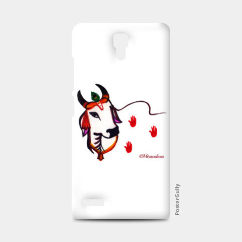 Gaiya | The adorable Indian Cow Redmi Note Cases | Artist : Miraculous
