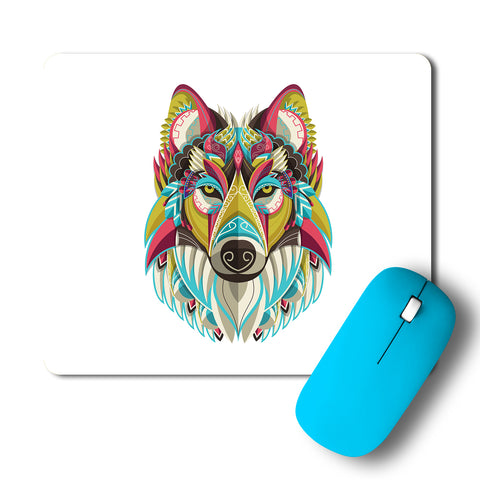 Wolf Artwork Mousepad