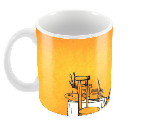 Artistic freedom Coffee Mugs | Artist : amit kumar