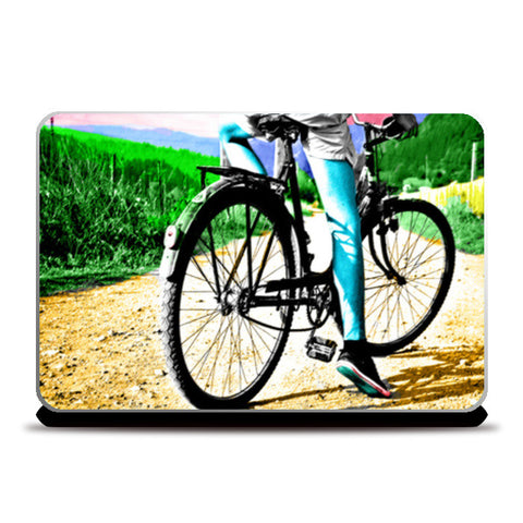 Cyclist Laptop Skins | Artist : Tiny Dots
