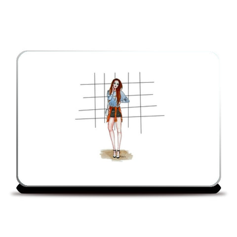 Relaxed Fashion Laptop Skins | Artist : Fashion Lover