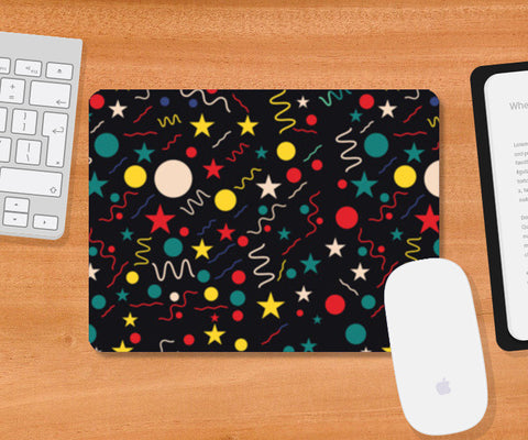 Seamless abstract pattern with geometric shapes Mousepad | Artist : Designerchennai