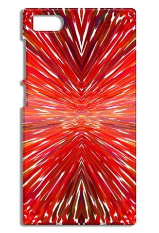 Abstract Red Burst Modern Design Mi3-M3 Cases | Artist : Seema Hooda