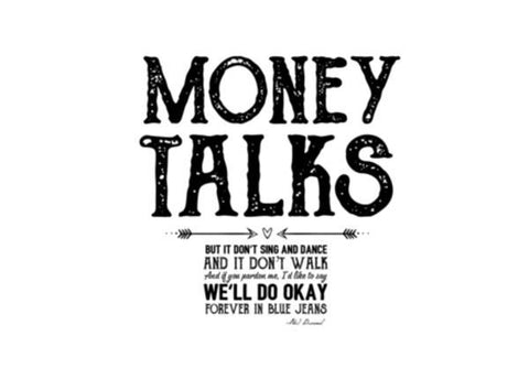 PosterGully Specials, Money talks Wall Art  | Artist : Abhishek Faujdar, - PosterGully