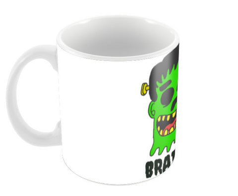 Zombie Brainlover Coffee Mugs | Artist : Nalin Singh