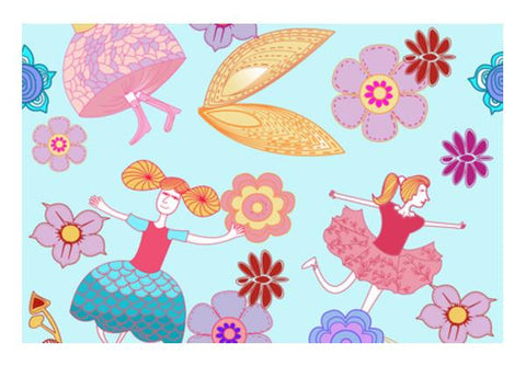 PosterGully Specials, FAIRY LAND! Wall Art | Artist : DISHA BHANOT, - PosterGully