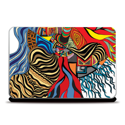 Psychedelic mania! Laptop Skins | Artist : Jessica Maria
