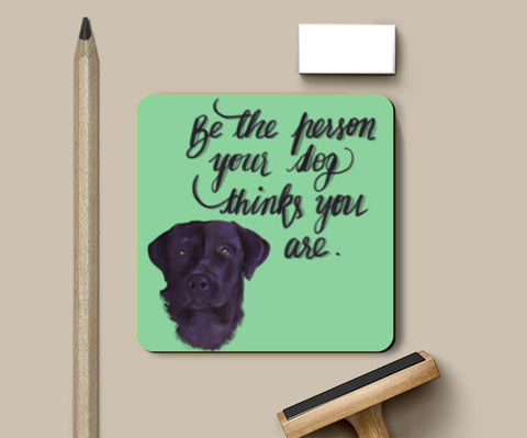 Dog Person Coasters | Artist : Deepikah Bhardwaj
